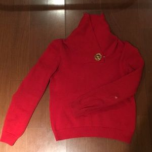 Ralph Lauren Red Festive Sweater